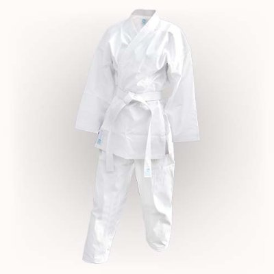 Karate uniform, Saman, Light with belt