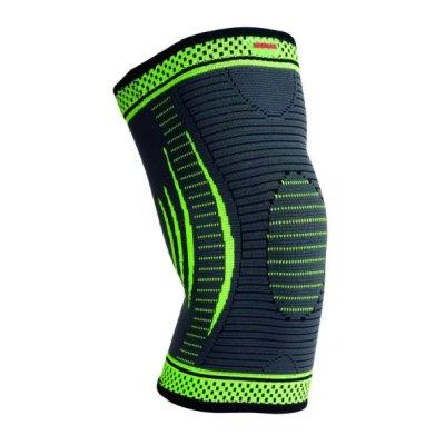Térdvédő, Madmax, 3D Compressive, patella stabilizálóval, zöld