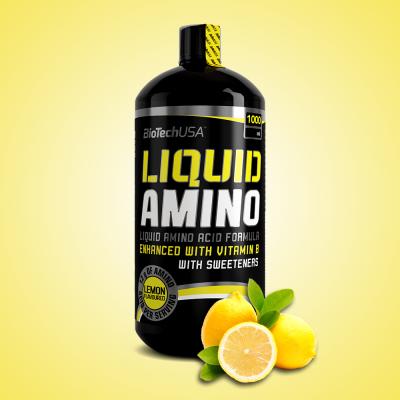 Biotech, Liquid Amino, 1000 ml, citrom