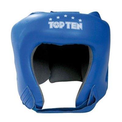 Boxe Headguard, TOP TEN, AIBA, blue