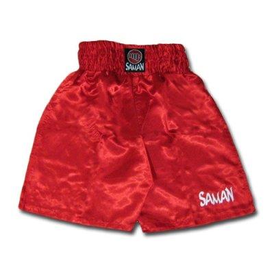 Box nadrág, Saman, műszál, piros