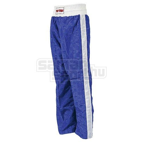Kick-box nadrág, Top Ten, Classic, kék, L méret