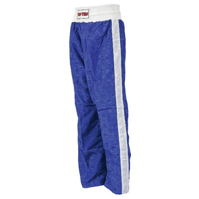 Kick-box trousers, Top Ten, Classic, blue
