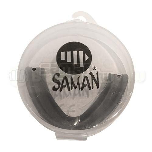 Mouthguard, Saman, black, SR size