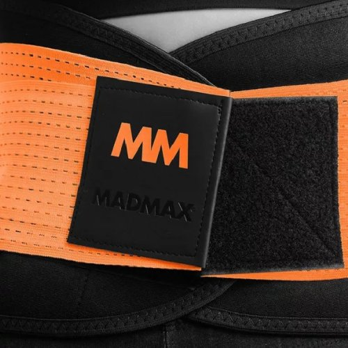 Slimming and support belt, Madmax, Piros szín, XL méret