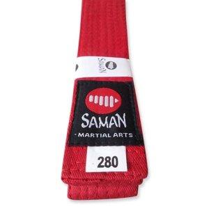 Öv, Saman, pamut, piros, 260 méret