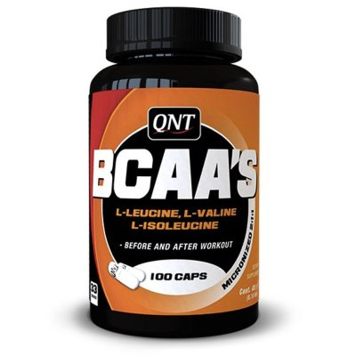 QNT, BCAA's + vit. B-6, aminosav, 100 kapszula