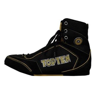 Box cipő, Top Ten, arany/fekete