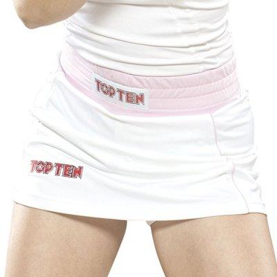 Boxing skirt, TOP TEN, white