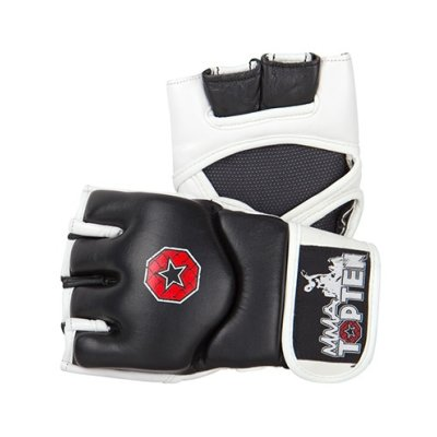 Top Ten Evo Flexx MMA gloves, black