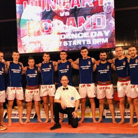 Lengyelországban vendégeskedtek legjobb kick-boxosaink
