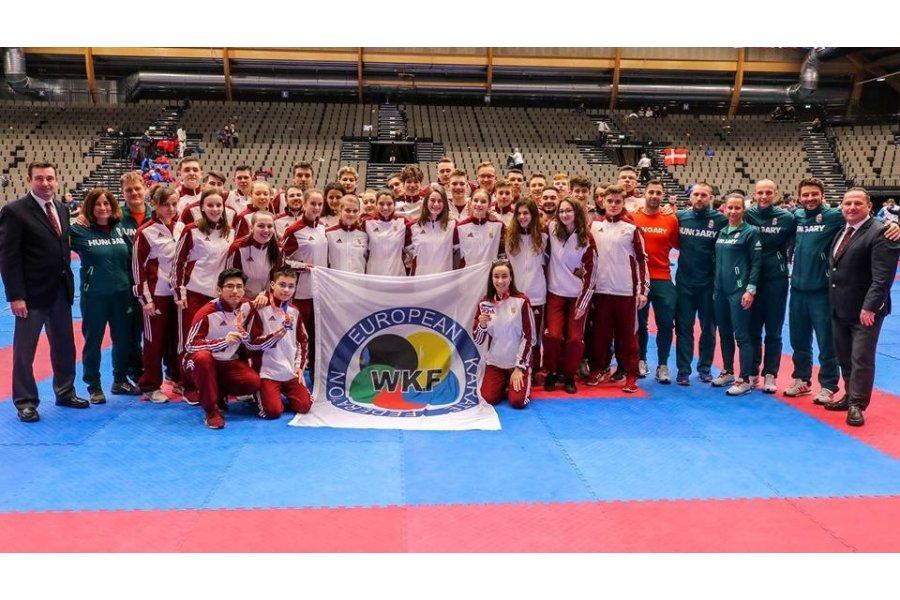 Sikeres karate Eb-t zártunk, Budapest a házigazda jövőre